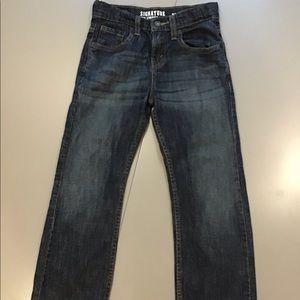 Levi Strauss signature bootcut jeans kids size 8